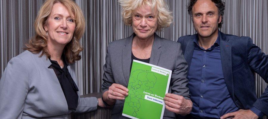 Ambitieus expertteam Leren en Werken gaat regio in