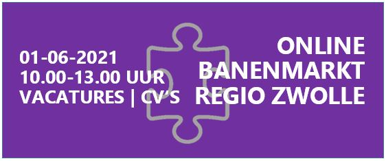 5e Online Banenmarkt Regio Zwolle op 1 juni