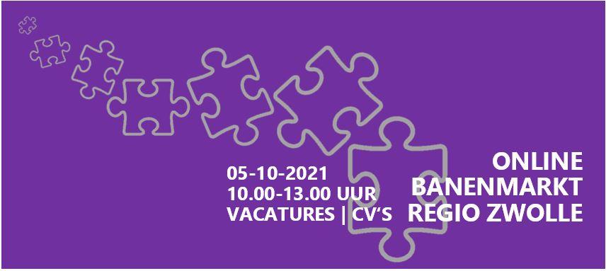 05-10-2021 | 7e Online Banenmarkt Regio Zwolle